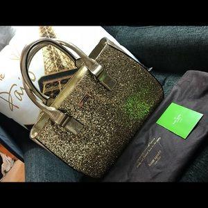 Kate Spade ♠️ Gold bag